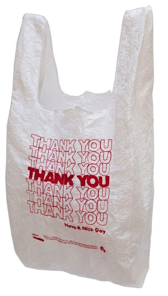 Thank You Tote Bag Polyester Taffeta