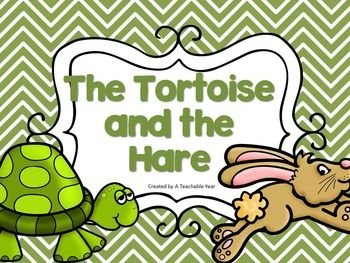The Tortoise And The Hare Activities Great For Esl With Images