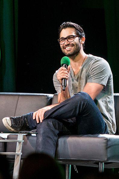 Tyler Hoechlin at Emerald City Comicon on March 27, 2015 in Seattle, Washington