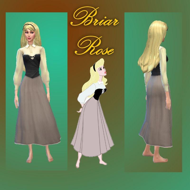 Mod The Sims - Sleeping Beauty - Aurora & Phillip: Disney