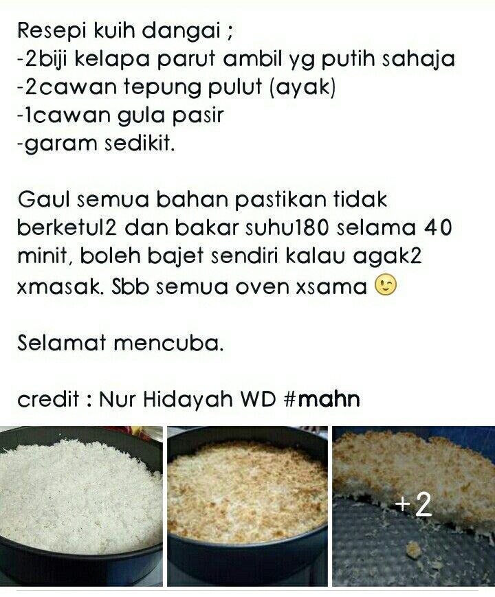 Kuih Dangai Yummy Food Food Recipes