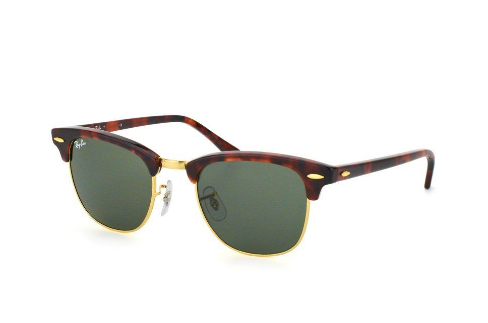 421d13816dc Ray-Ban Clubmaster RB 3016 W0366 small - Lunettes de Soleil Homme Misterspex