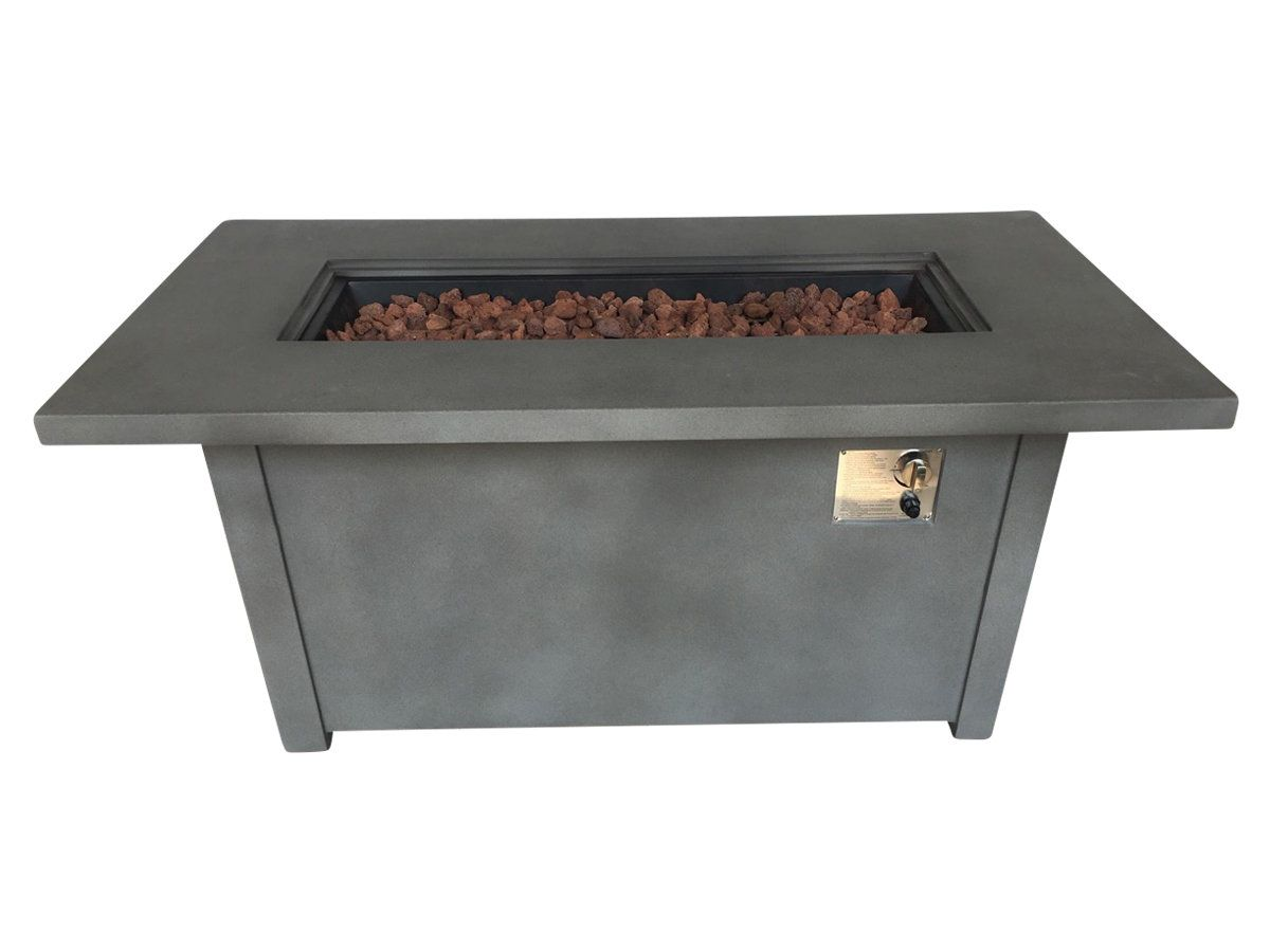 Torch concrete propane fire pit table products pinterest fire