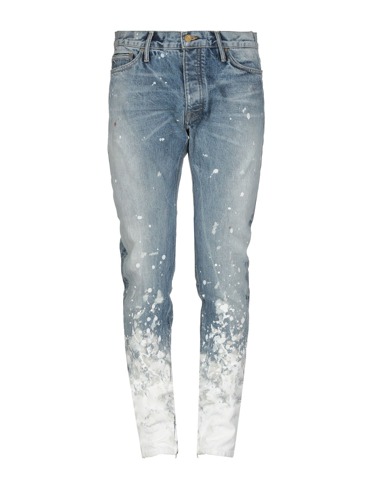 Denim Pants In Blue Straight Leg Pants Denim Pants Pants