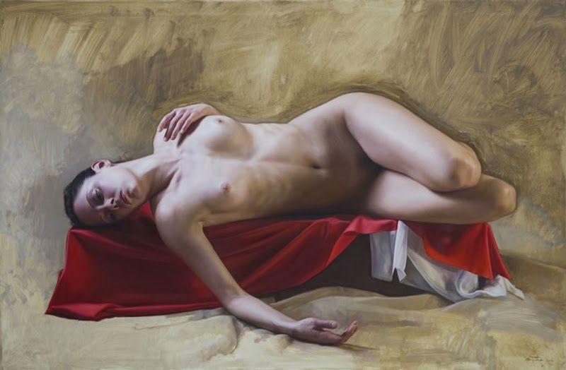 D.W.C. Woman Dreams - Painter Javier Arizabalo | DANCES WITH COLORS