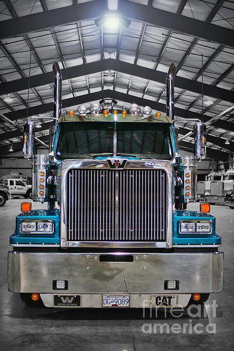 Western Star Head On Western Star Trucks Big Trucks Big Rig Trucks