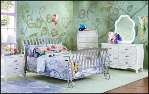 Disney Tinkerbell Bedroom Decor Fairy Bedroom Bedroom Themes