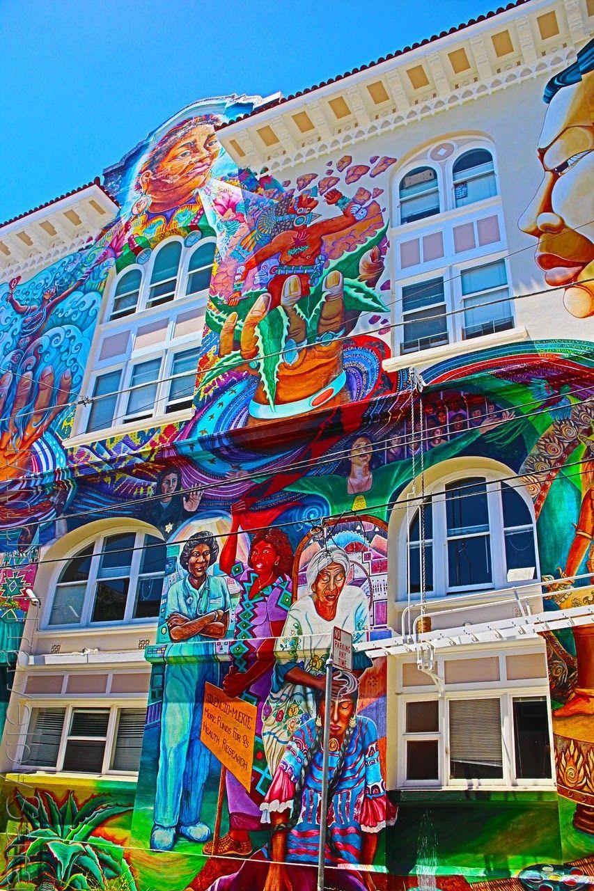 Arte callejero en el corazón de san francisco mindfultravel bysara