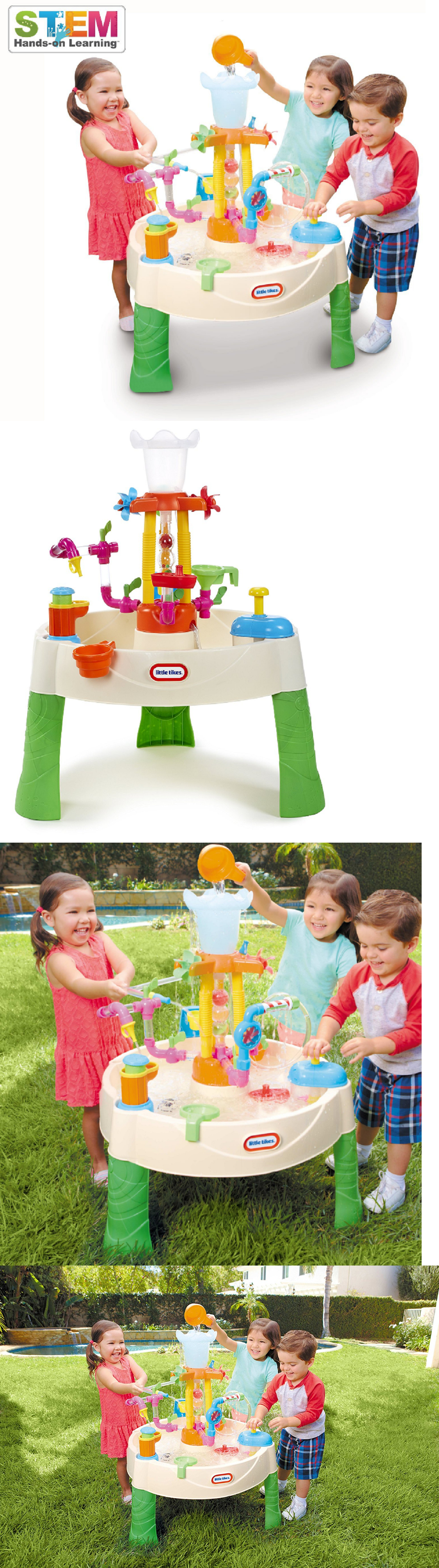 Water Toys Fountain Factory Water Table For Kids Toddlers