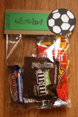 soccer treats bags diy crafts   love soccer treats soccer snacks soccer locker