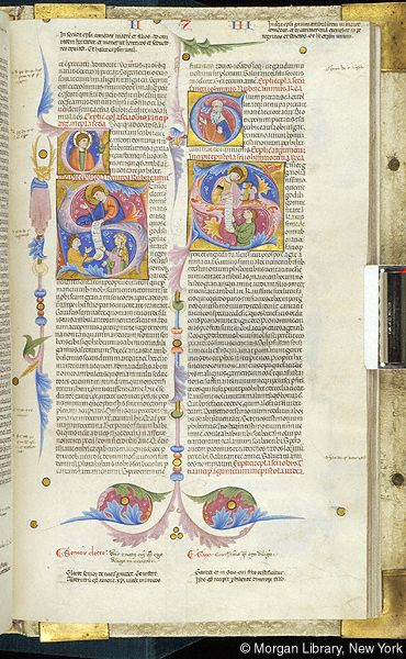 Bible, MS M.436 fol. 426r - Images from Medieval and Renaissance Manuscripts - The Morgan Library & Museum