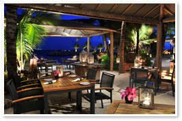 Baoase Beach Restaurant, fine dining, reservations recommended