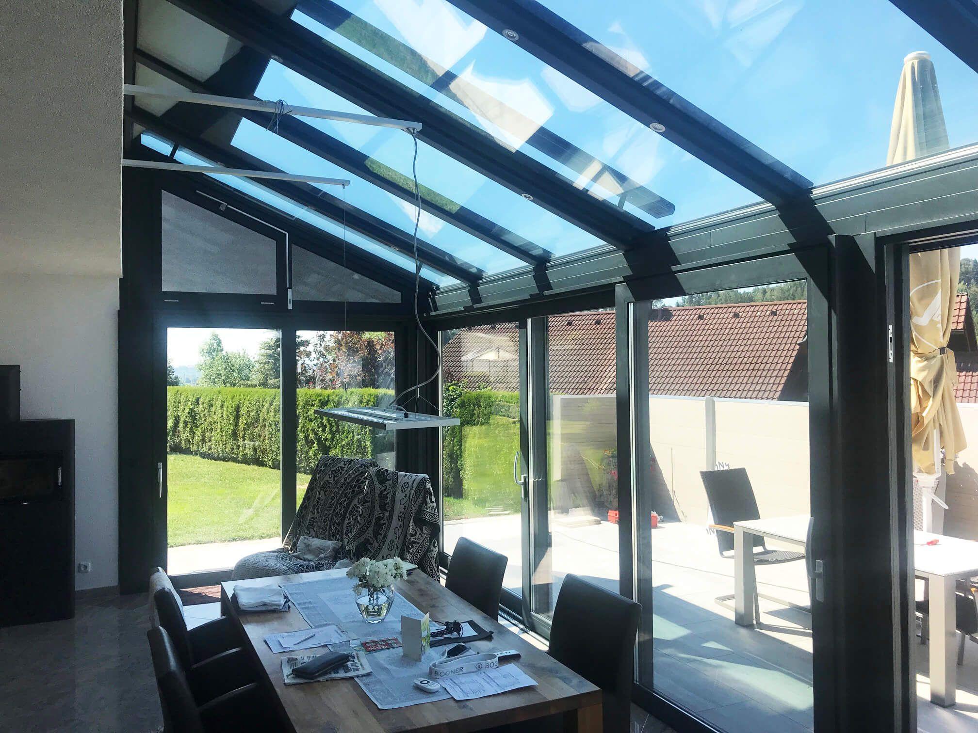 Wintergarten Warm In Oberosterreich Fenster Schmidinger Glasschiebetur Wintergarten Outdoor Dekorationen