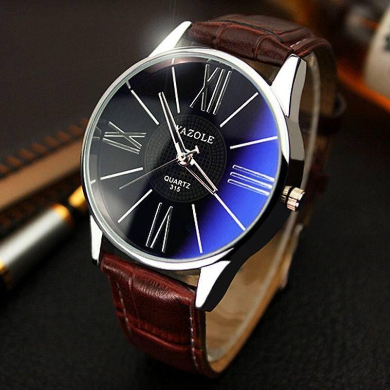 306e8f29956 2016 YAZOLE luxury brand quartz watch Casual Fashion Leather watches reloj  masculino men watch free shipping Sports Wristwatch