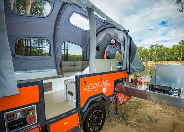 Camper Inflates In 90 Seconds No Poles Needed Off Road Camper
