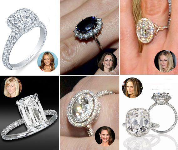 Top Engagement Rings Best Celebrity Engagement Rings of 2011