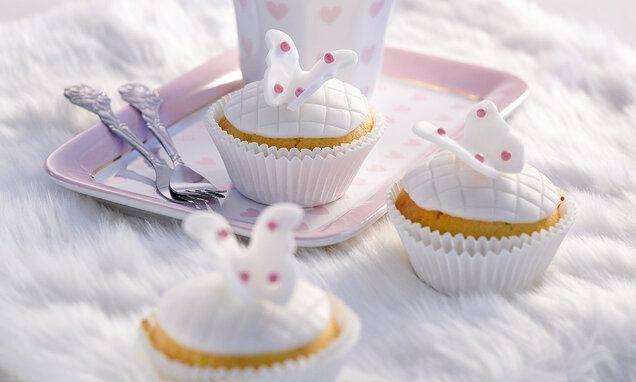 Schmetterlings-Muffins