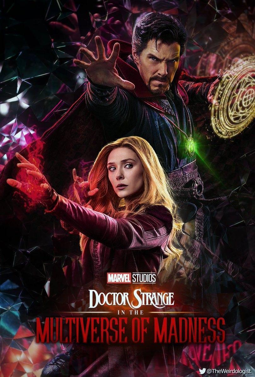 Doctor Strange And Scarlet Witch Poster De Peliculas Personajes De Marvel Ucm Marvel