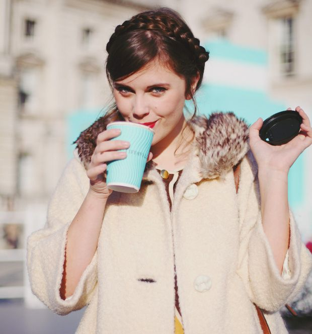 Tiffany & Co hot chocolate. Yes, you read that correctly. I'd smile too.
