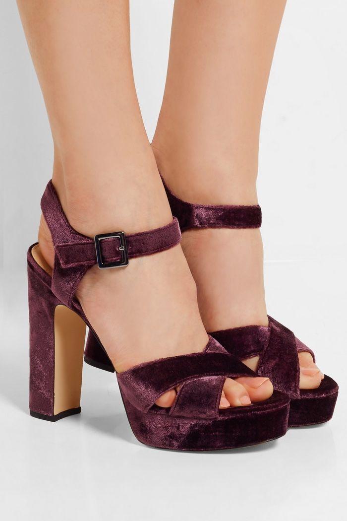 e50306372b7a12 New Arrivals  Sam Edelman s Velvet Shoes Are Perfect for Fall ...