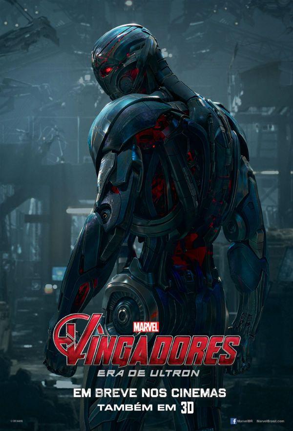 Vingadores Era De Ultron Posters Individuais Do Elenco Principal