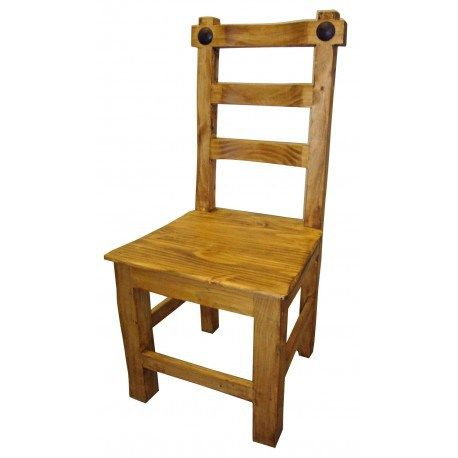 Hacienda Mexican Pine Dining Chair   Dining chairs, Chair ...
