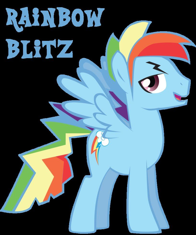 Rainbow Dash = Rainbow Blitz