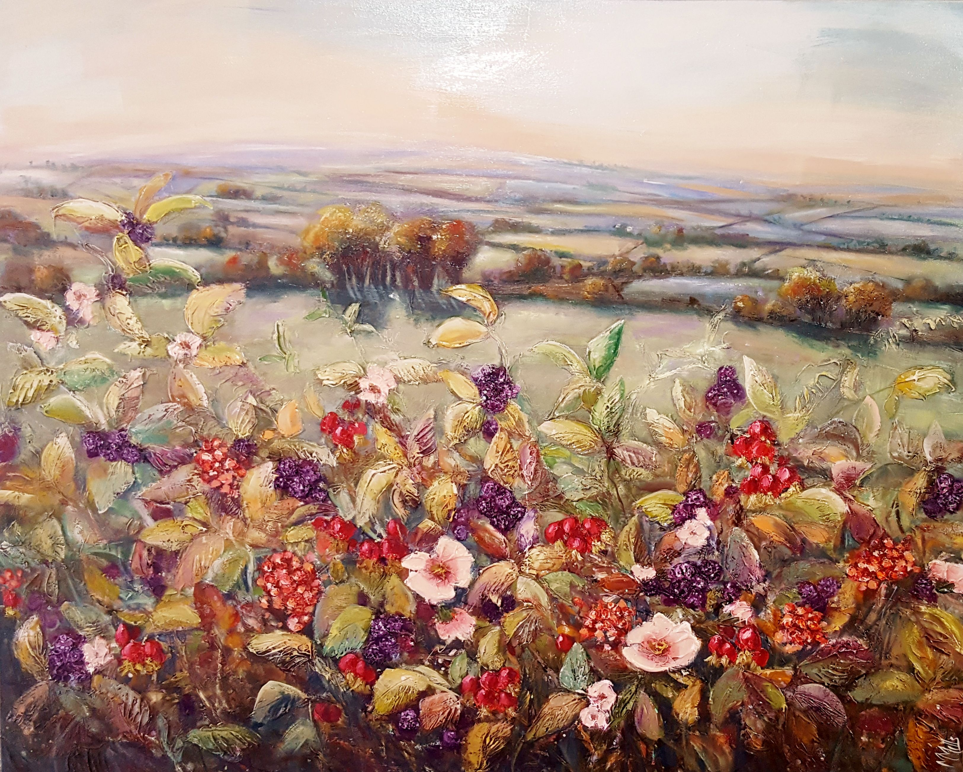 'Autumn Came Early' Marie Mills
