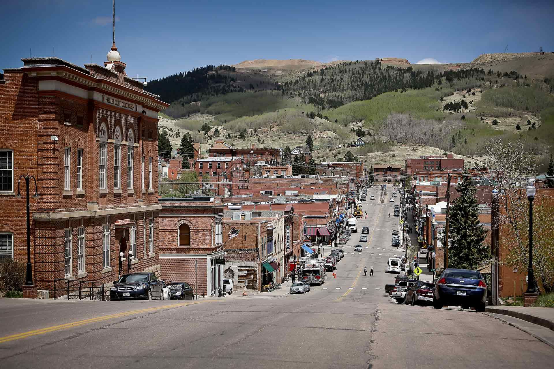 Historic Town Of Cripple Creek Colorado