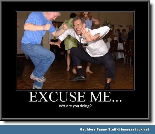 fad610780d06ed86794644c6c820e13f wtf picture of the day be careful, because too much dancing may