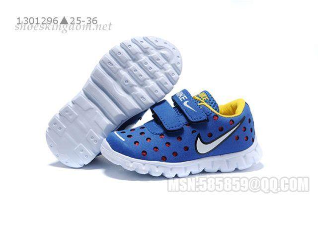 nike Baby Shoes kids blue yellow