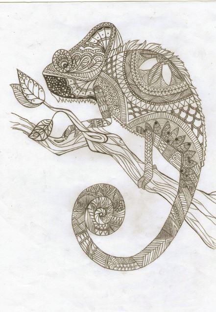Verkaufe Ein Grunes Chamaleon Nein Ein Blaues Aaa Rot Huch Herdplatte Angelassen P Art Draw Peace Symbol