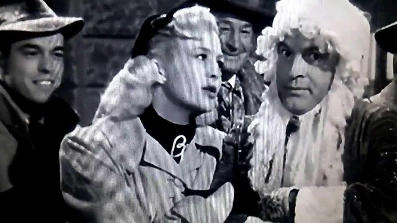 Original Christmas Carol Movie.Silver Bells Original Sung By Bob Hope Marilyn