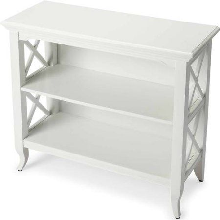 Butler Newport Low Bookcase, Multiple Colors, White