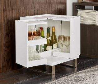Buy Logan White Drinks Cabinet From The Next UK Online Shop