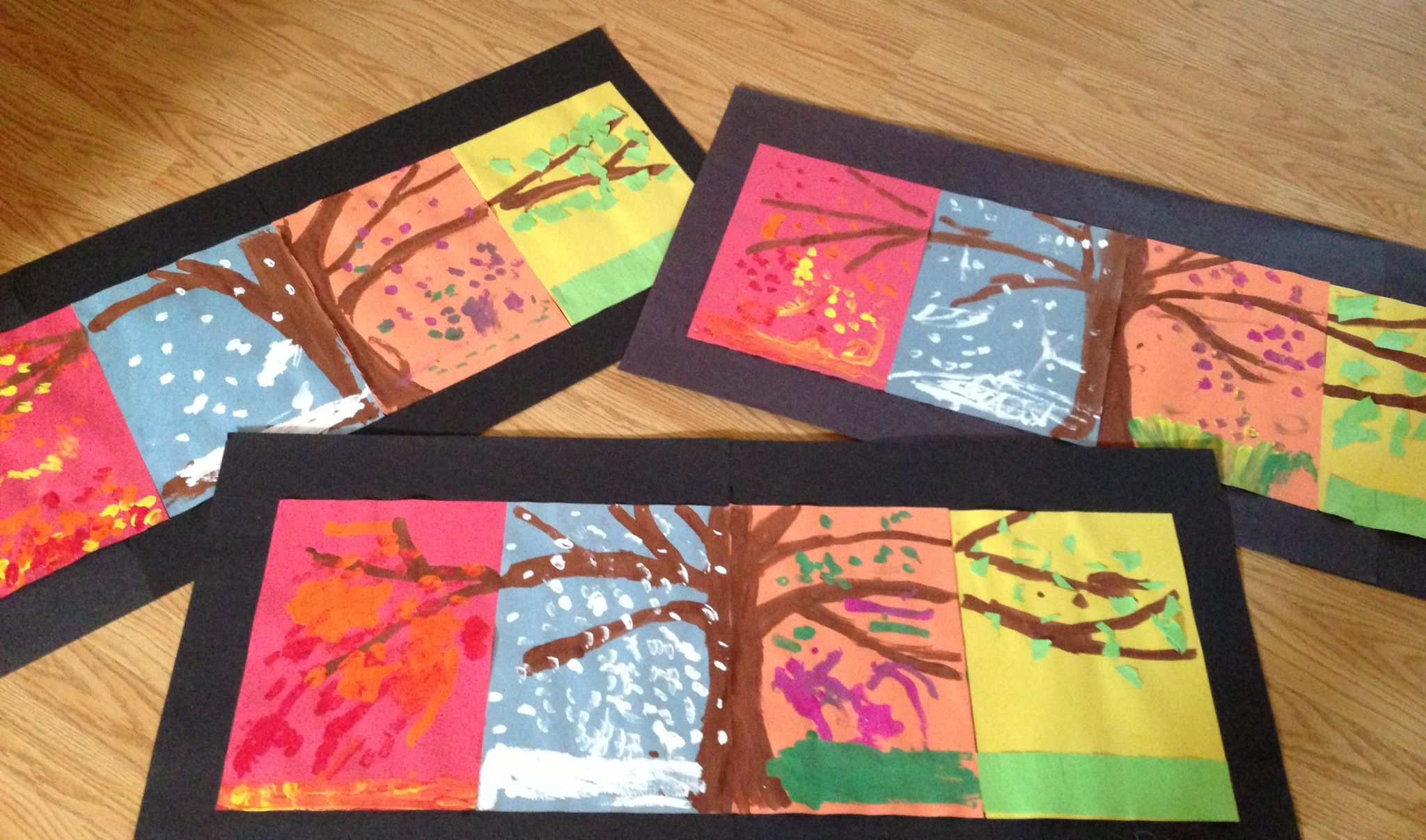 craft ideas for 1st graders four season tree for and second grade to do in 6121