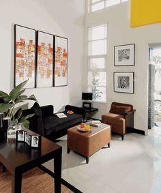 ruang tamu adalah ruang yang penting di dalam rumah. di