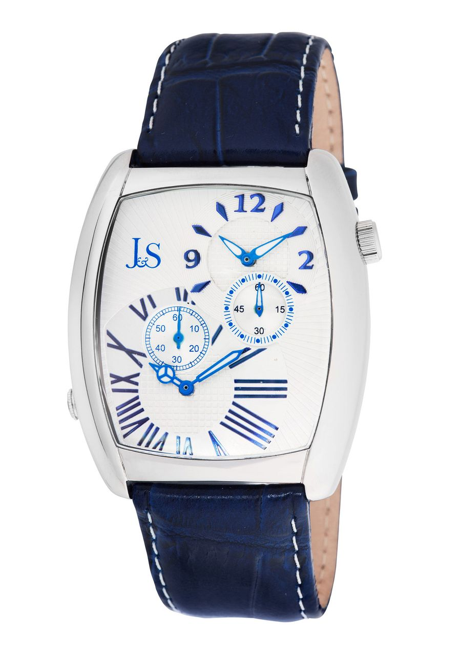 92d0cdebf JOSHUA & SONS Men's Dual Time Watch | Watches | Watches, Jewelry ...