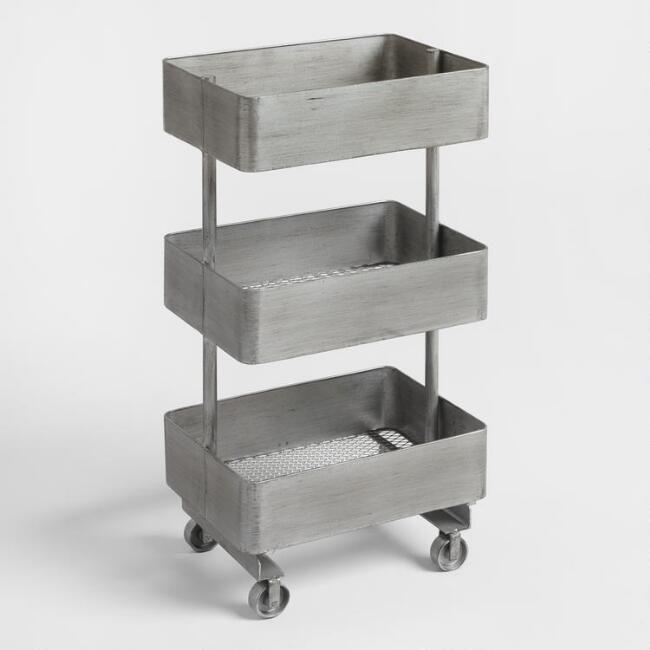 Jayden Metal Shelf Unit Home Office Accessories Metal Shelves