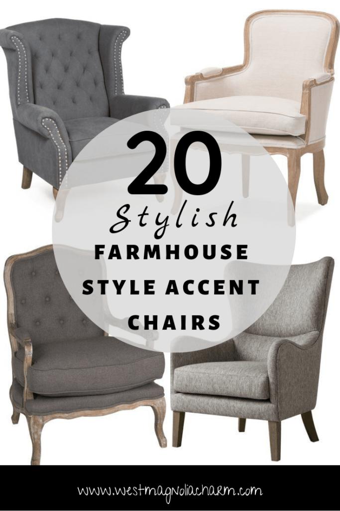 22+ Farmhouse accent chair best