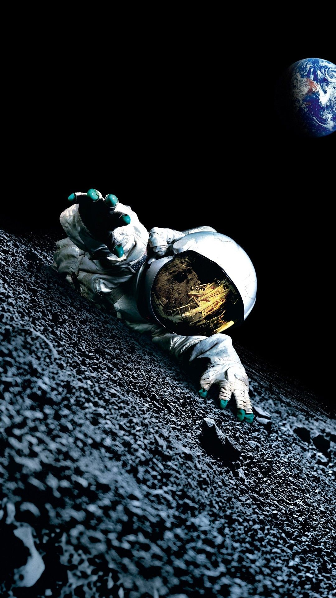Apollo 18 htc one wallpaper in 2019 wallpaper space space backgrounds astronaut - 18 by 9 wallpaper ...
