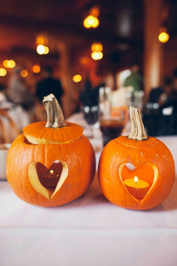 Create a Cozy Atmosphere With Pumpkin Candle Holders