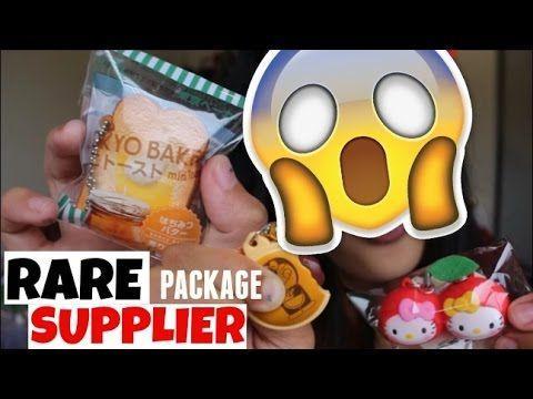 Rare Squishy Package :  Rare  CHEAP squishy package! SECRET SQUISHY SUPPLIER CathyDM - YouTube Squishys Pinterest ...