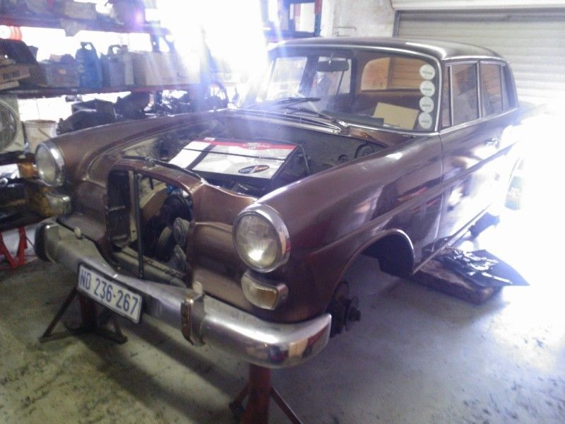 1957 Mercedes-Benz fintail Other Sedan unfinished project | Mercedes ...
