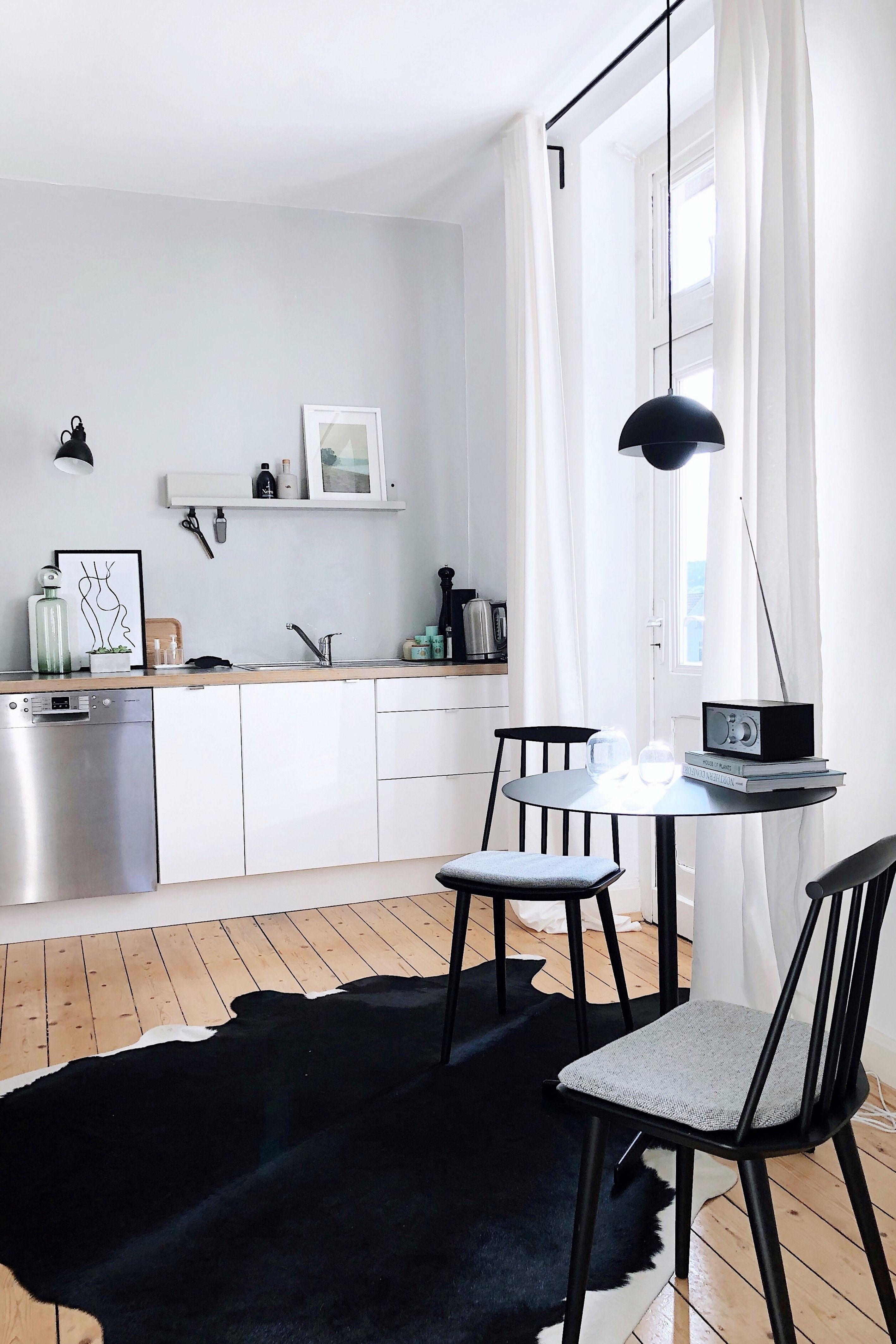 Skandinavische Küche #skandinavischwohnen