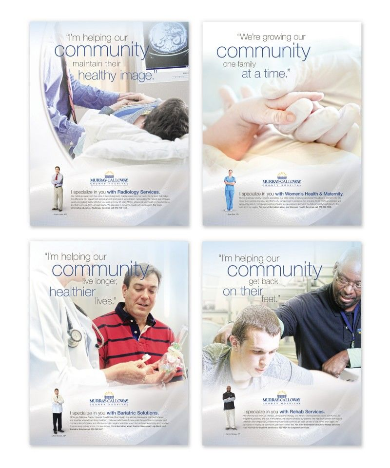 Murray-Calloway County Hospital u2013 Brand Campaign #Healthcare - healthcare brochure