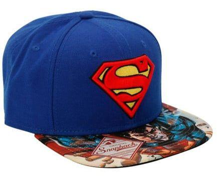 gorras-de-superman-planas  6140f68794b