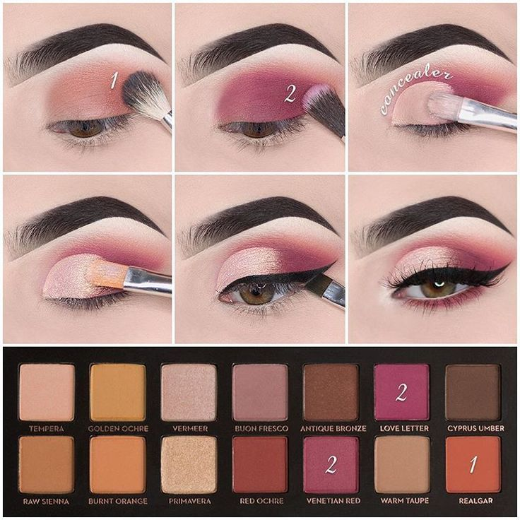 Photo of Schönheit Step by step using the Modern Renaissance Palette  Makeup used: Brows…
