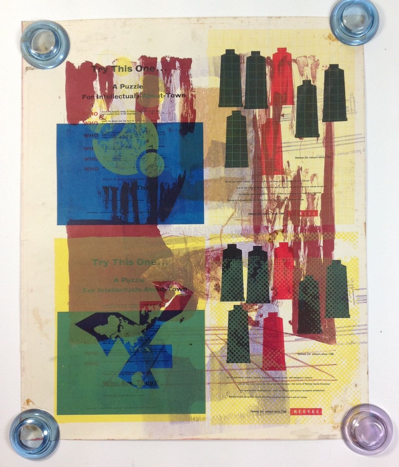Double Sided Abstract Run Up Sheet Screen Print Rca By
