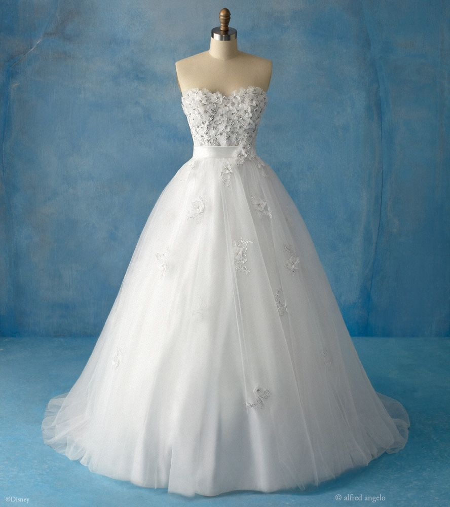 Lily & I have decided -- the Snow White wedding dress is our ...